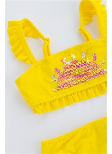 Penti Sarı Kız Rainbow Sun Bandeau Bikini Takımı Sarı